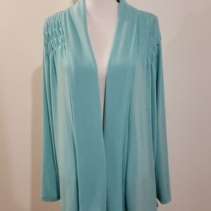 Spring Cardigan in mint green